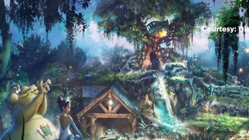Are you ready? Disney's Splash Mountain gets re-themed to beloved animated classic