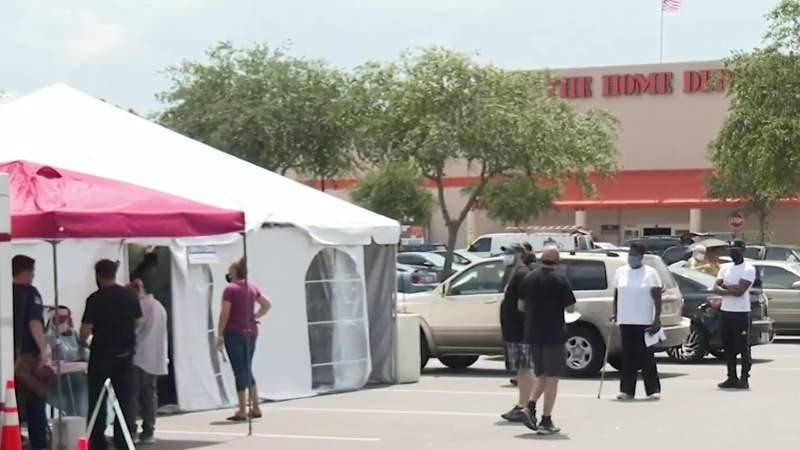 State-run coronavirus testing sites open at Home Depot stores in Oviedo, Leesburg