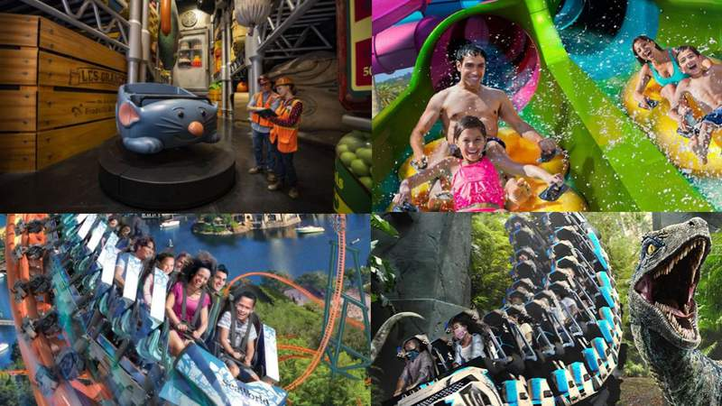 Here are the new attractions coming to Central Florida theme parks this year