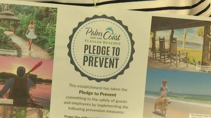 Flagler County Tourism Department launches program aimed at slowing spread of COVID-19