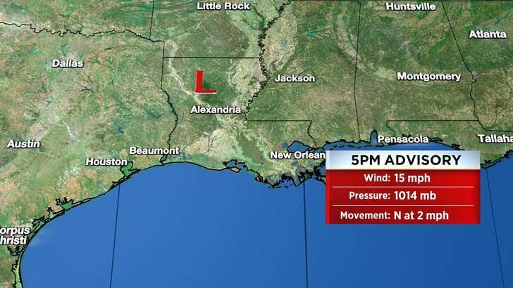 Tropics Forecast Cone at 11:05 Friday Night, September 17th