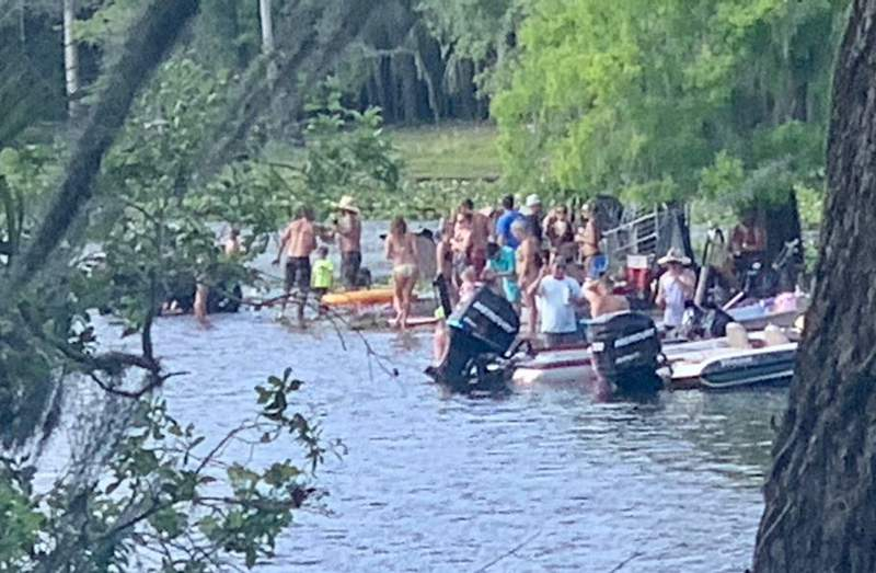 All Seminole County boat ramps will close the night of Saturday, April 4 due to large parties on the river violating all CDC guidelines.