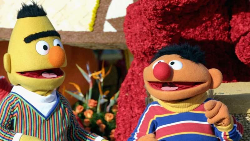 """Sesame Street's"" Bert and Ernie (Matthew Simmons/Getty Images)."