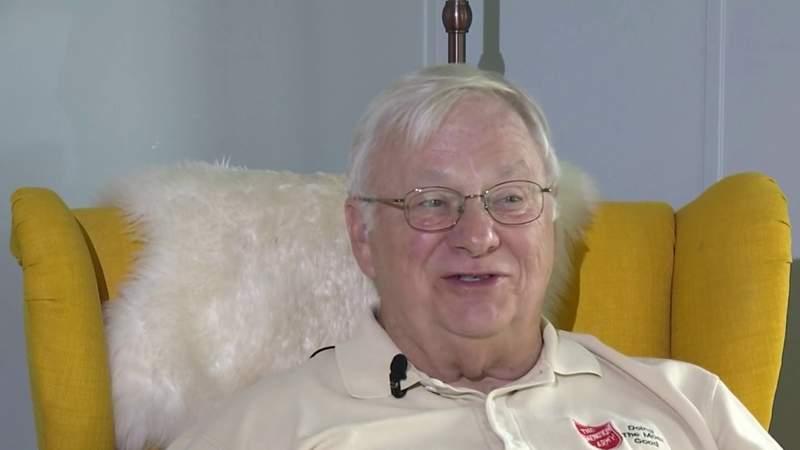 Navy veteran serves his community through Salvation Army