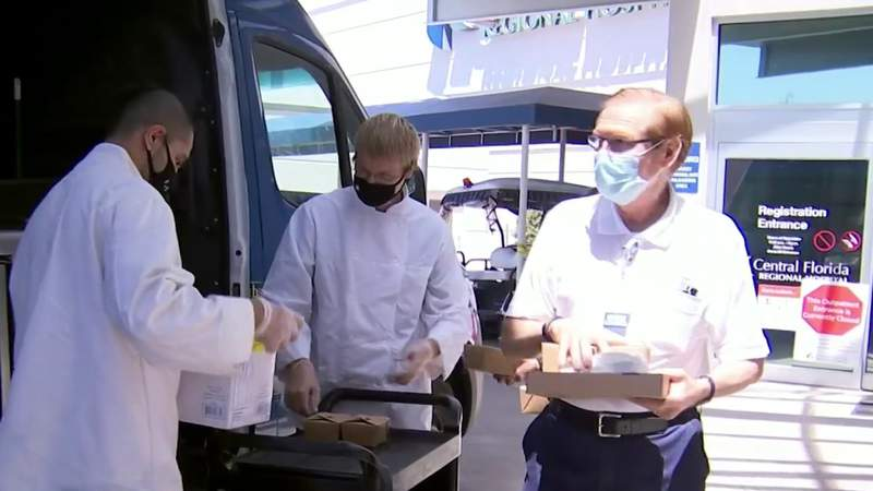 Seminole nonprofit shows appreciation for health care workers, first responders with warm meals