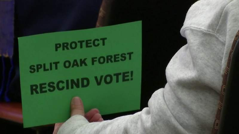 Plan to extend Osceola Parkway toll road through Split Oak Forest moves forward