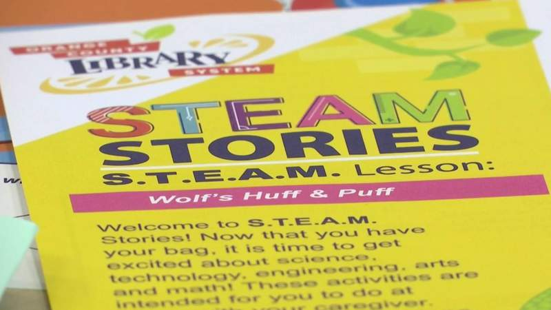 Create pulley system, build paper chopper using Orange County Library's new STEAM kits