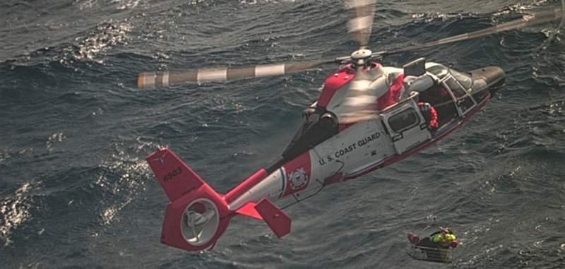 Coast Guard Rescue. Stock image