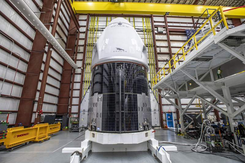 SpaceX's Crew Dragon spacecraft for the Crew-1 mission arrives at Kennedy Space Center's Launch Complex 39A on Friday, Nov. 6, 2020. (Image: Nasa Commercial Crew/Twitter)