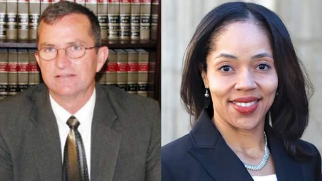 State attorneys Brad King and Aramis Ayala