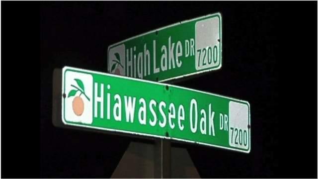 Shooting occurred near the cross roads of High Lake Drive and Hiawassee Oak Drive