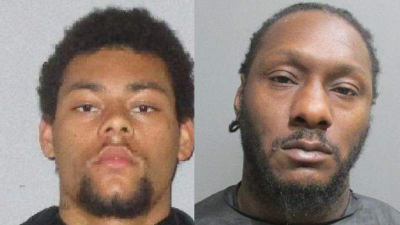 Marion Gavins (left) and Carlos Dupree (right). (Images: Flagler County Sheriff's Office)