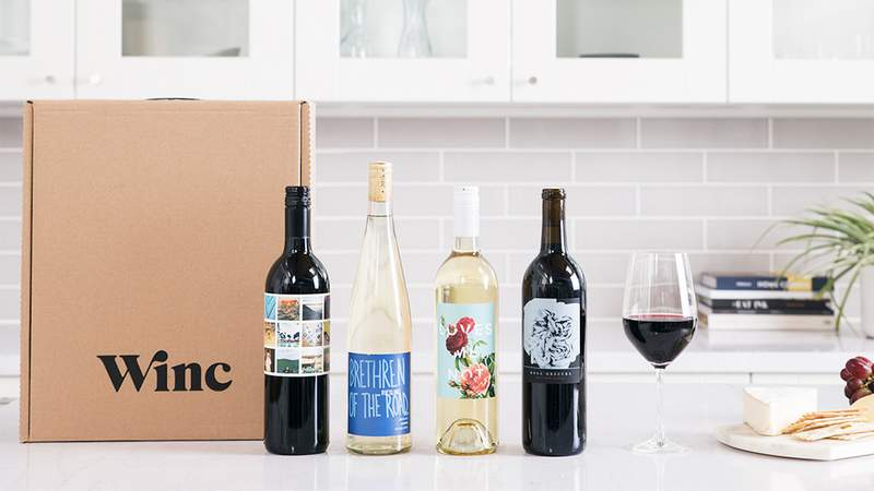 Get wines based on your taste preferences with Winc.
