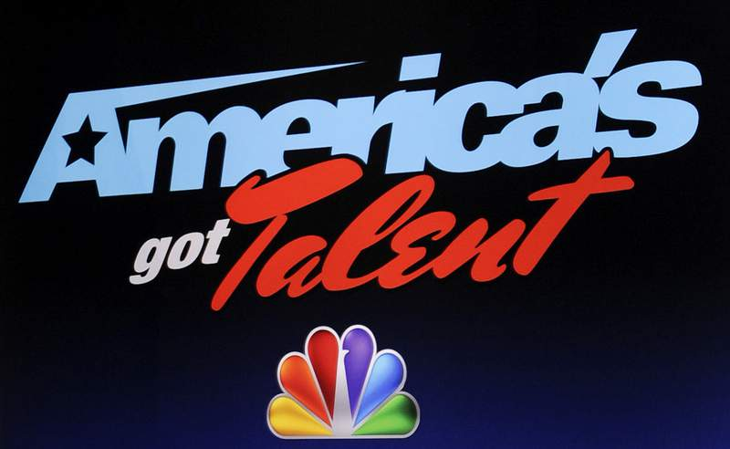 """FILE - In this May 10, 2012, file photo, the """"America's Got Talent"""" logo appears at a press event in New York. """"America's Got Talent"""" was the No. 1 show last week, according to Nielsen company figures out Tuesday, while CBS was the most-watched broadcast network and Fox News was the most-viewed cable channel. (AP Photo/Evan Agostini, File)"""