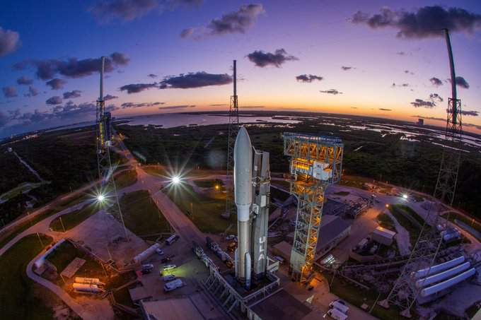 Atlas V and the NROL-101 payload at Launch Complex 41. (Image: ULA)