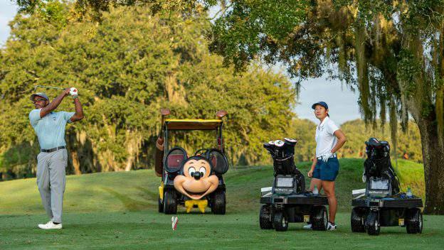 Robo Carts arrive at Walt Disney World golf courses