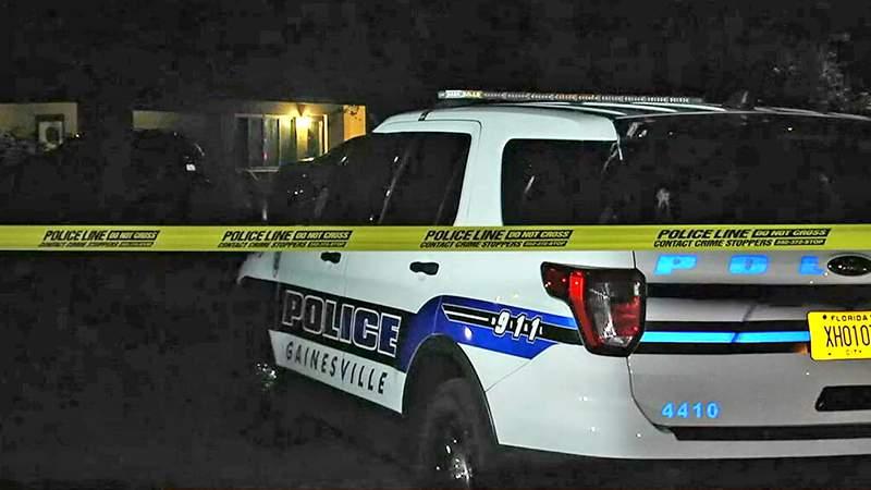 Gainesville police investigate double homicide on NE 17th Drive.