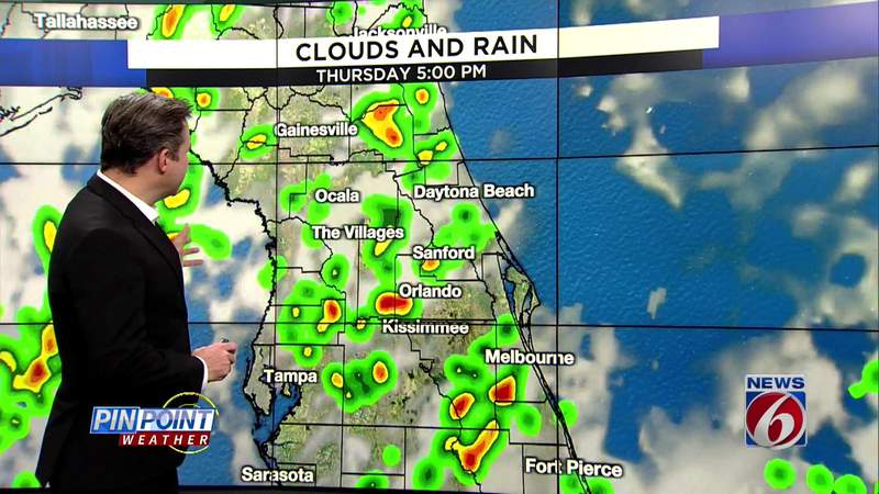 Hot and stormy in Central Florida