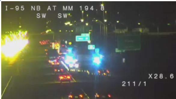Fatal crash in Rockledge. (Image: Florida Department of Transportation)