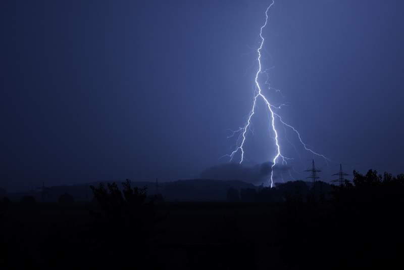 July in Central Florida is hot, humid, stormy, and the most active month for lightning deaths.