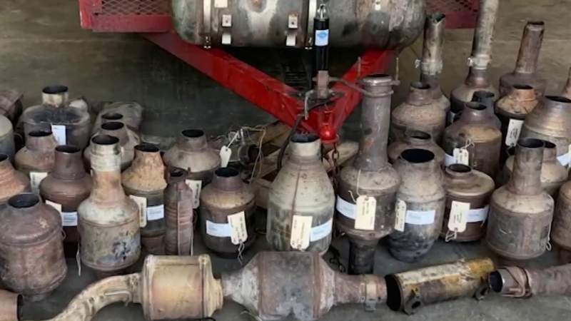 Central Florida continues to see increase in catalytic converter thefts