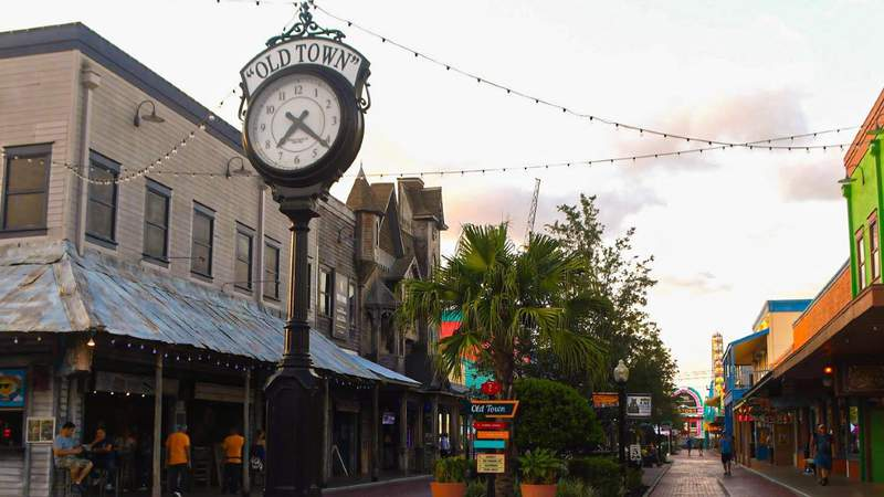 Old Town in Kissimmee