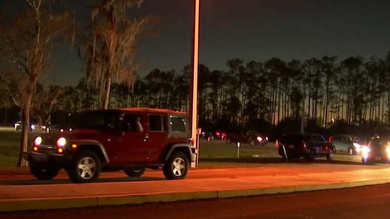 Seniors to sleep in their cars to wait for COVID-19 vaccine event in Volusia County