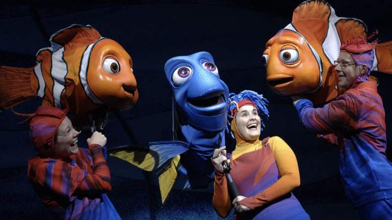 Finding Nemo Musical Coming to Disney's Animal Kingdom Theme Park in 2022