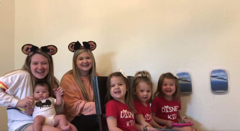 No virus will stop this Texas family from visiting Walt Disney World