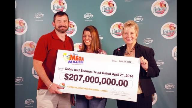 Merritt Island Mega Millions Jackpot Winners Claim Prize