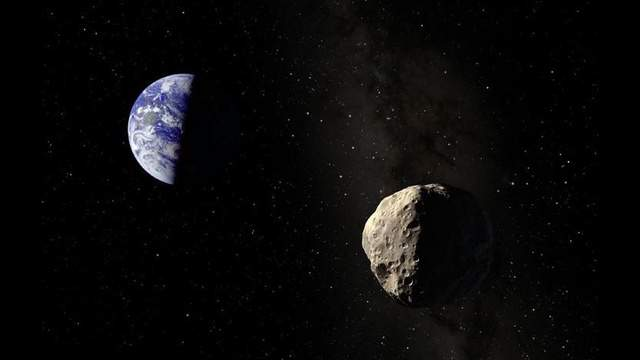 New research chronicles an asteroid the width of Rhode Island.