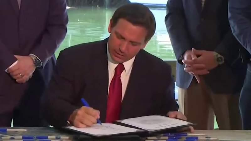 Gov. DeSantis suspends COVID-19 emergency orders across Florida