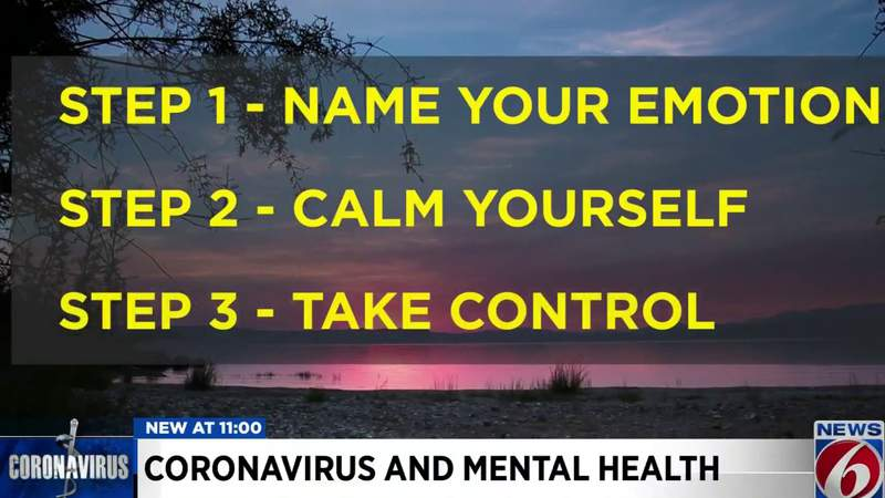 Here's what to do if coronavirus has you scared or anxious