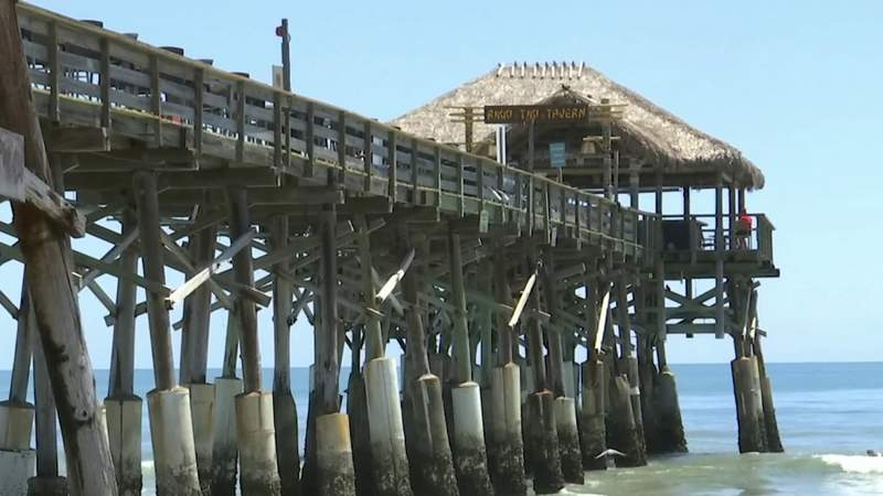 Cocoa Beach Pier begins reopening to guests
