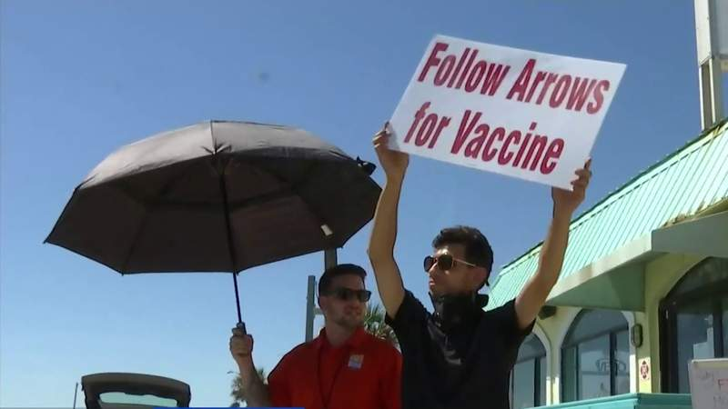 Flagler, Volusia take vaccines to the community