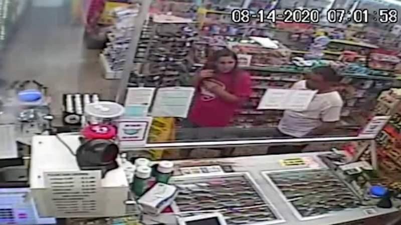 VIDEO: Surveillance video of Orange County abduction