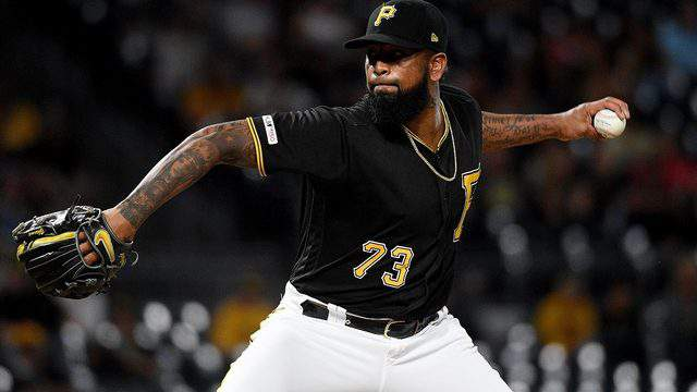 Felipe Vazquez, of the Pittsburgh Pirates.