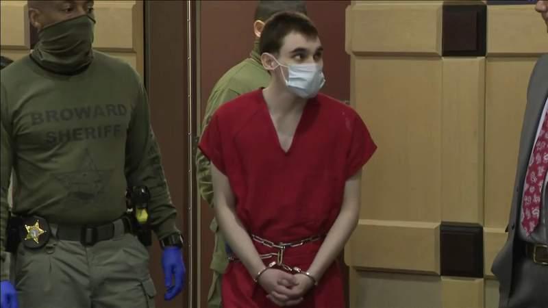 Nikolas Cruz seen back in a Broward courtroom