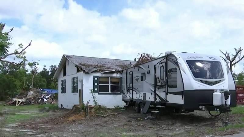 Cleanup efforts continue 1 month after DeLand tornado