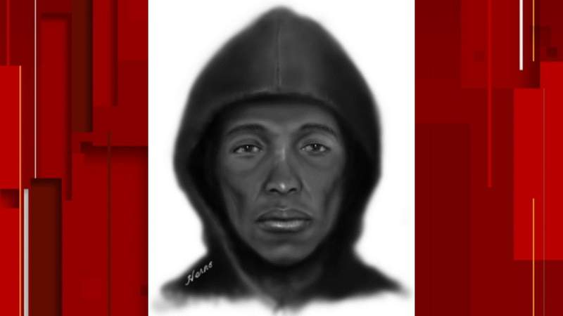Orange County deputies release a sketch in hopes of identifying the gunman in a fatal shooting on Hermit Smith Road on Dec. 15, 2020. (Image: Orange County Sheriff's Office)