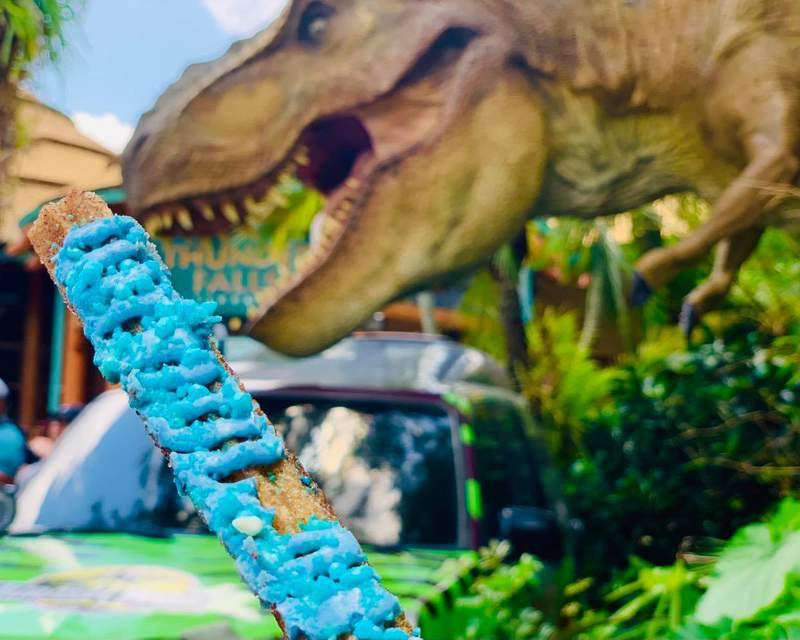 Jurassic themed foods to try at Universal Orlando Resort