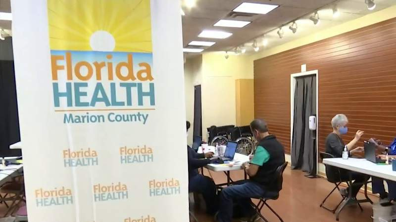 Paddock Mall in Ocala opens as new COVID-19 vaccination site