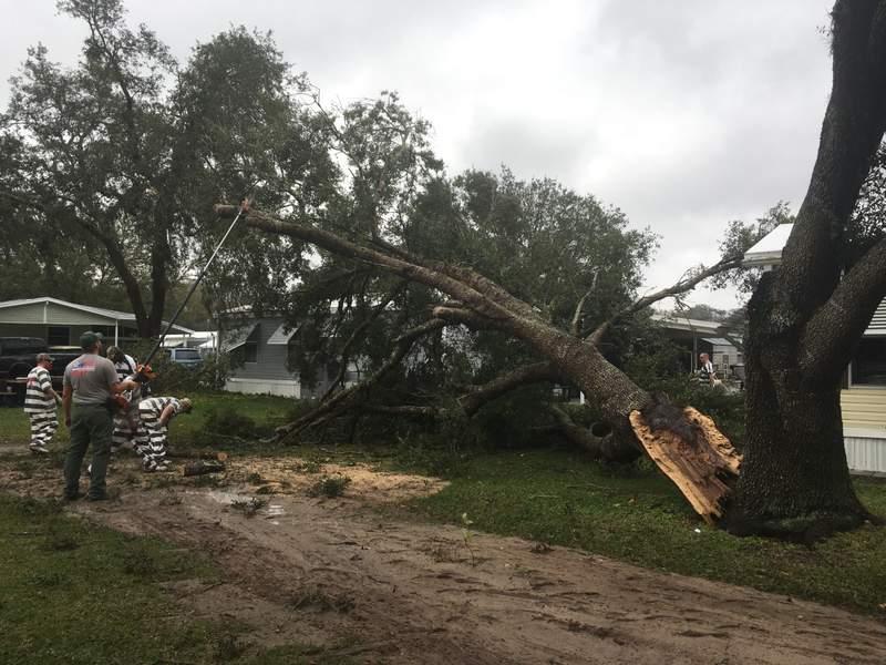 Holiday RV Village storm damage