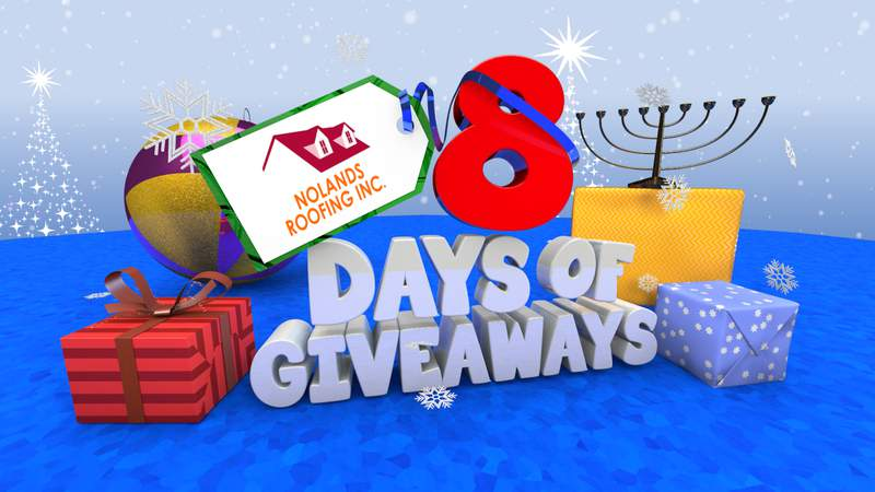 8 Days of Giveaways