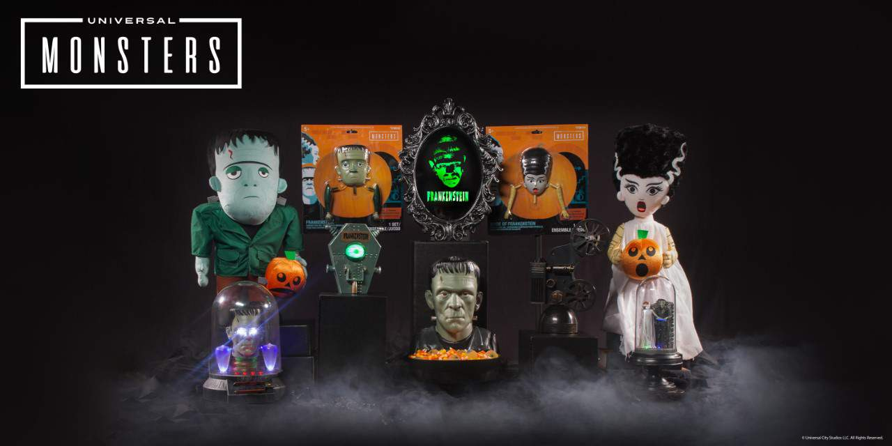 Frankenstine Bride Scare Up Frights In New Universal Monster Halloween Decor