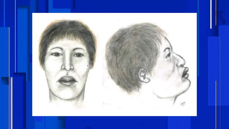 Facial reconstructive sketch of woman found in Kissimmee Lakefront Park