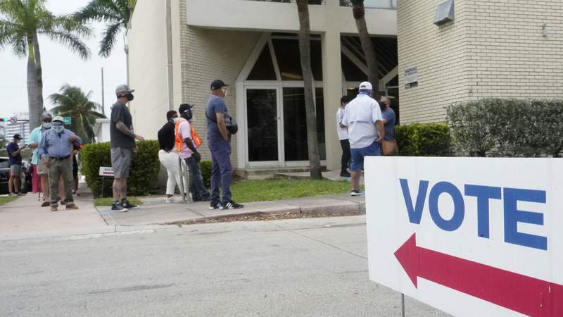 File photo of early voting in Florida.