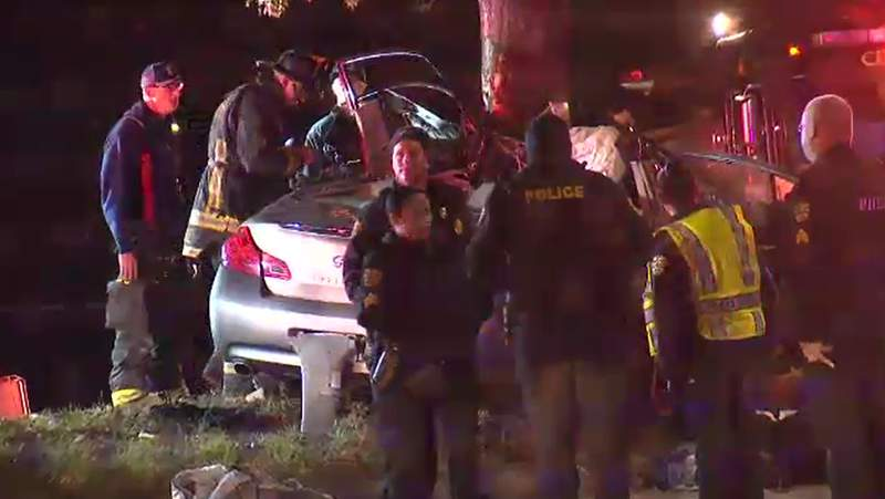 The Orlando Police Department has released the names of the 17-year-old boy and 19-year-old man killed in a crash near the intersection of John Young Parkway and CR Smith Street on Saturday.