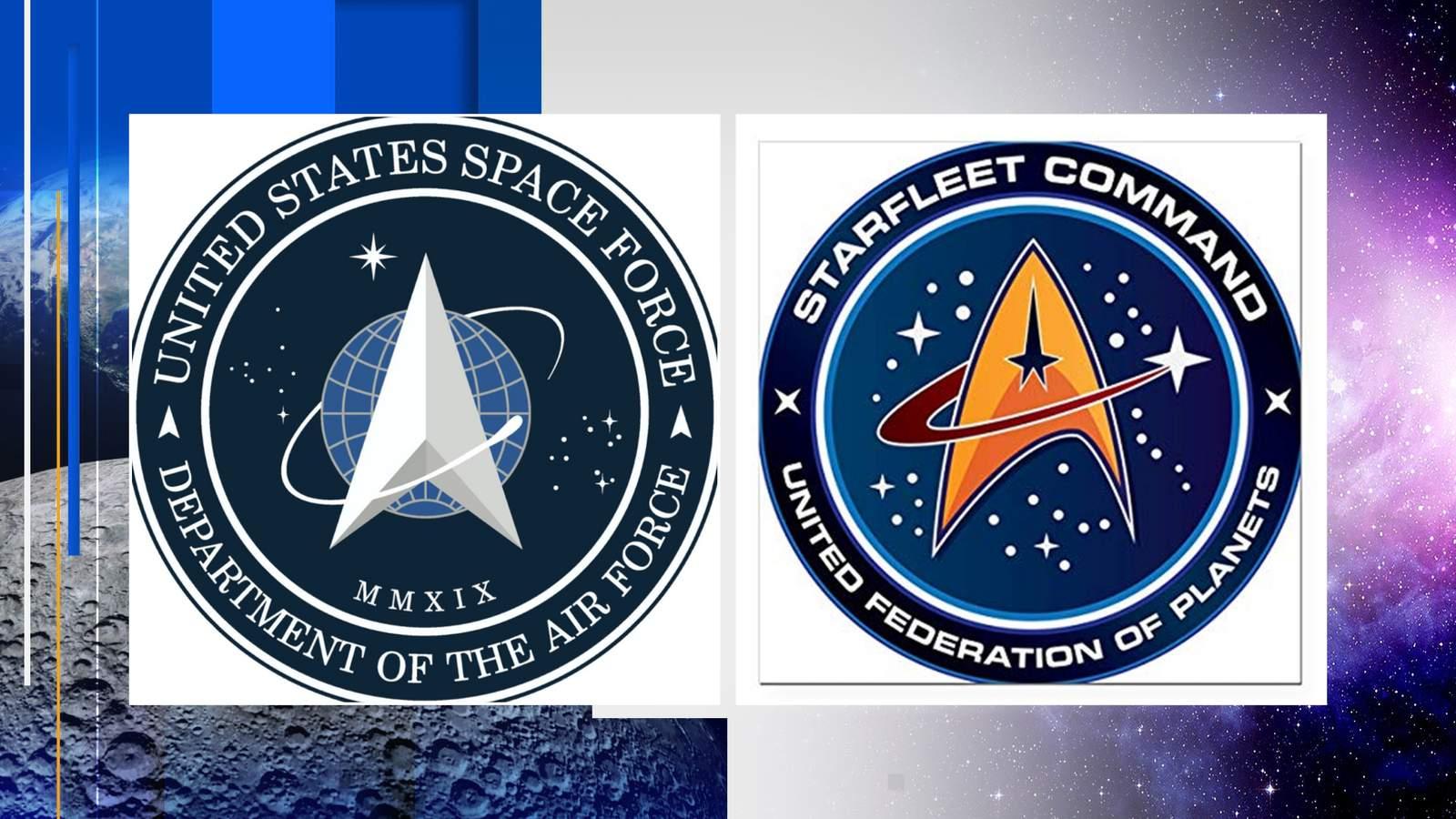 President Trump's Space Force logo looks familiar, 'Star Trek' fans say