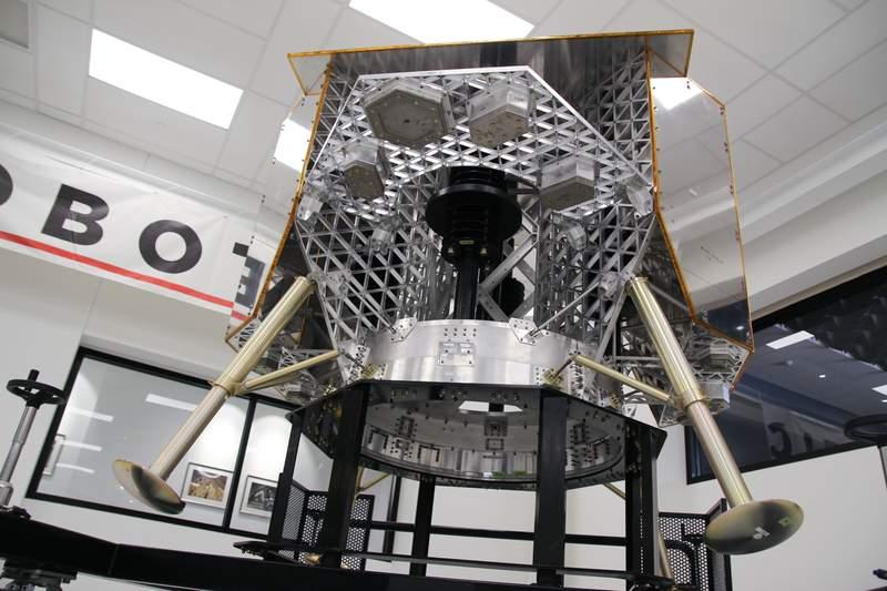Astrobotic's Peregrine moon lander. (Image: Astrobotic)